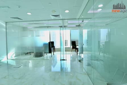 Office for Rent in Business Bay, Dubai - Canal View Furnished Office for rent In Bayswater Tower