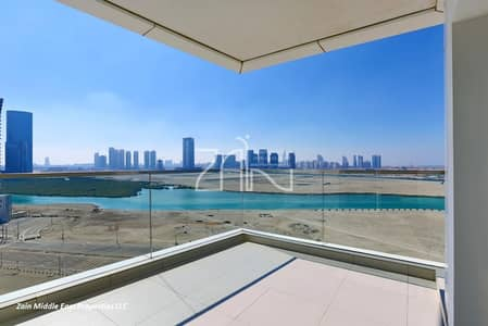 3 Bedroom Apartment for Rent in Al Reem Island, Abu Dhabi - Hot Offer Sea View 3+M Apt with Balcony