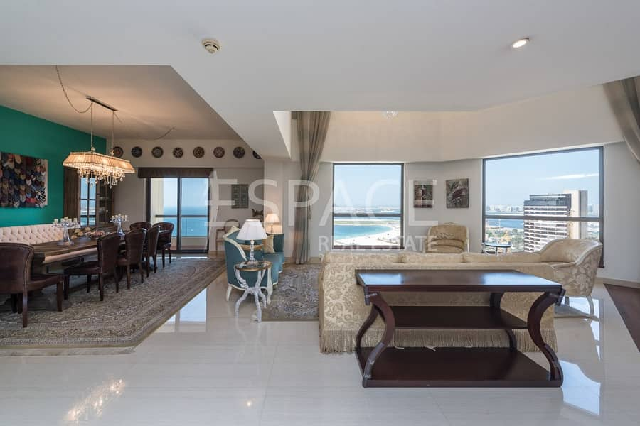 9 Exclusive 4 Bed Duplex with Full Sea View