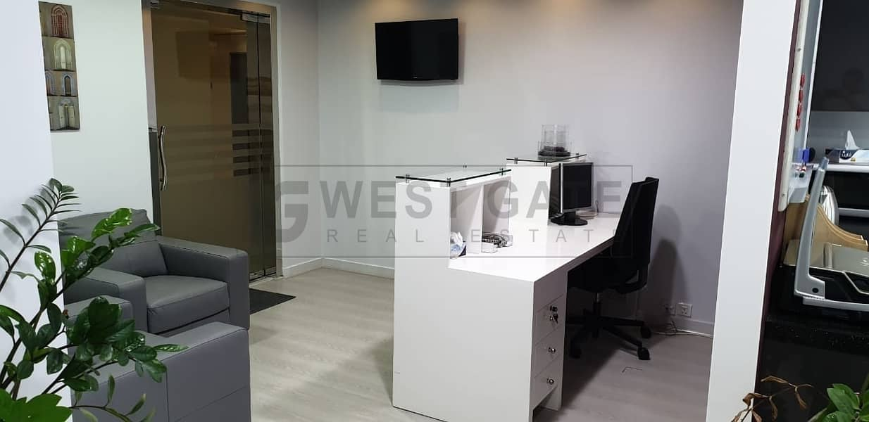 2 Fitted Office in Smart Heights in Al Barsha Heights (tecom)