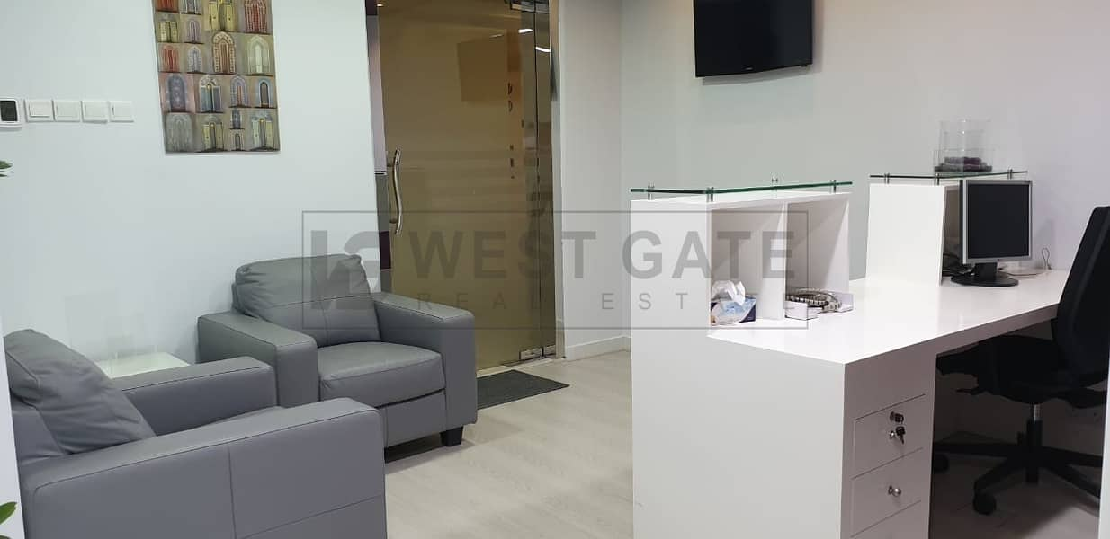 9 Fitted Office in Smart Heights in Al Barsha Heights (tecom)