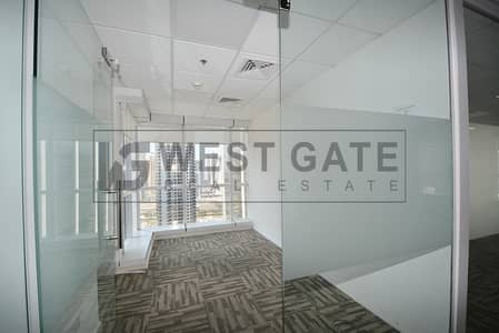 Office for Rent in Jumeirah Lake Towers (JLT), Dubai - Fully-fitted w/ Partitions and best-priced office space