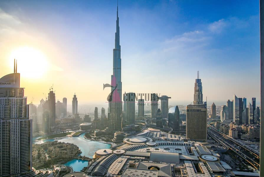 Stunning Burj Khalifa view / 2BR Apartment