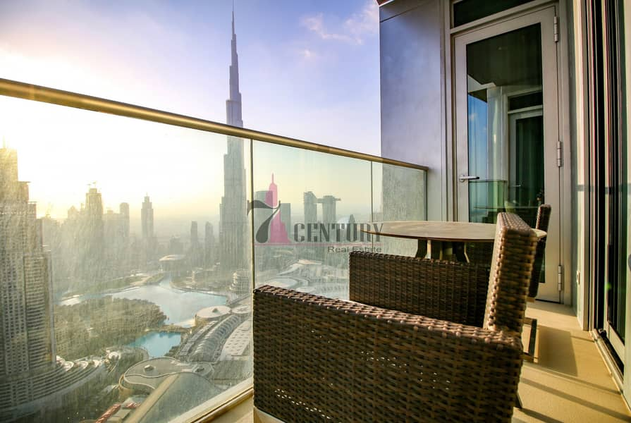 10 Stunning Burj Khalifa view / 2BR Apartment