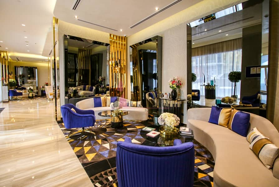10  fully furnished studio apt by damac