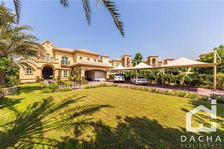 فیلا 4 غرفة نوم للبيع في جزر جميرا، دبي - Upgraded / Extended / Mediterranean Garden Hall