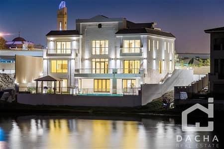 فیلا 5 غرفة نوم للبيع في جزر جميرا، دبي - Brand New / Custom Villa / Available Now