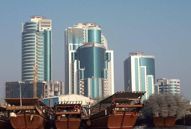 Big size One (1) BHK Apartment for Sale in Orient Towers, Ajman
