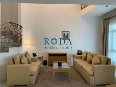 3 Bedroom Apartment for Rent in Downtown Dubai, Dubai - Two Floors|Maid's room|Bills included|Free WiFi