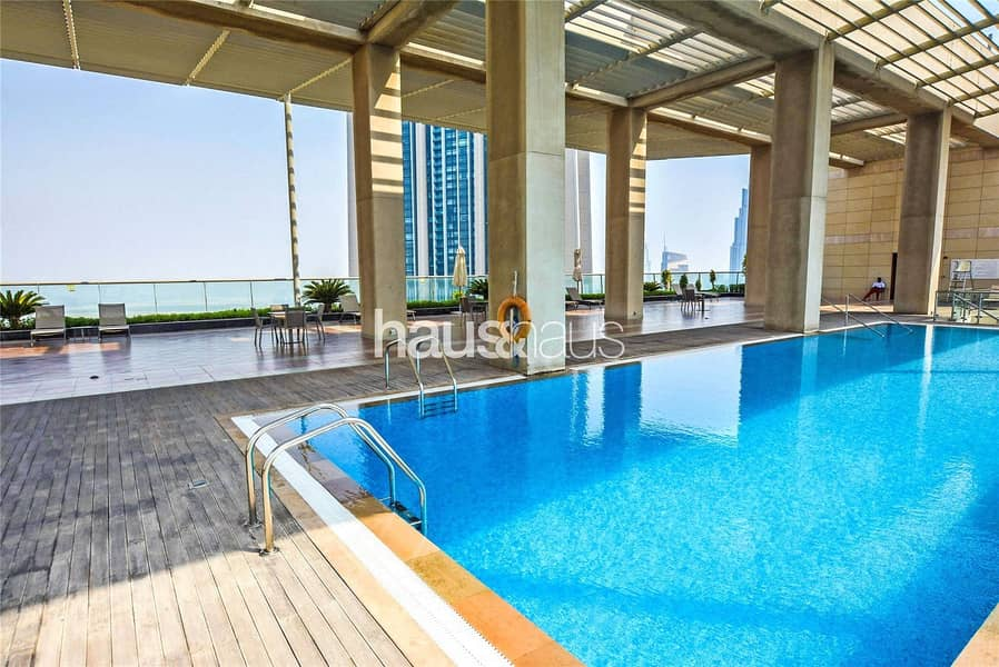 10 Balcony | Furnished | Studio | High Floor