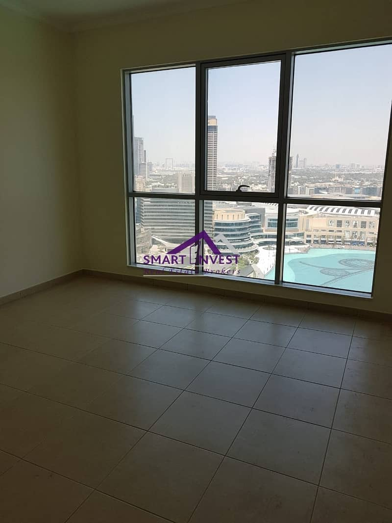 3BR Apt with full Burj/Fountain view for rent in The Residence