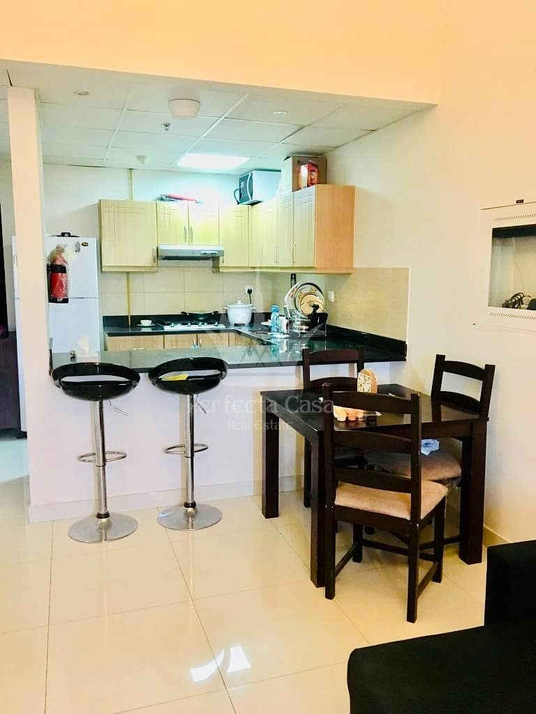 10 Semi Furnished 1 Bed - Elite 4 - Sport city
