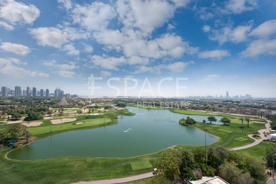 Brand New 3 Beds + Maids   Golf Course View