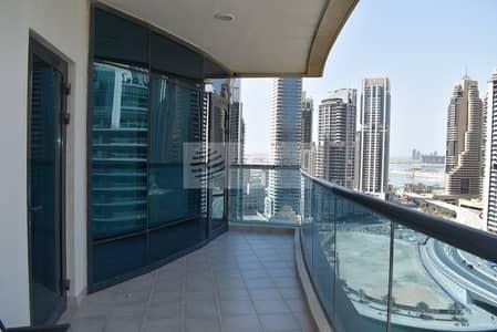 فلیٹ 3 غرفة نوم للايجار في دبي مارينا، دبي - 3BR with Full Marina View | Excellent Location