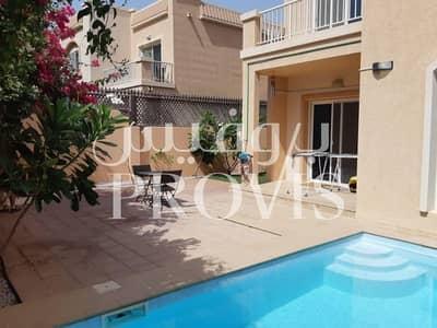 5 Bedroom Villa for Sale in Al Reef, Abu Dhabi - Mediterranean Style 5 Bed Villa with Pool! Al Reef