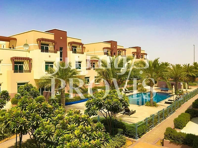 Terrace Studio Apartment in Al Khaleej Village!