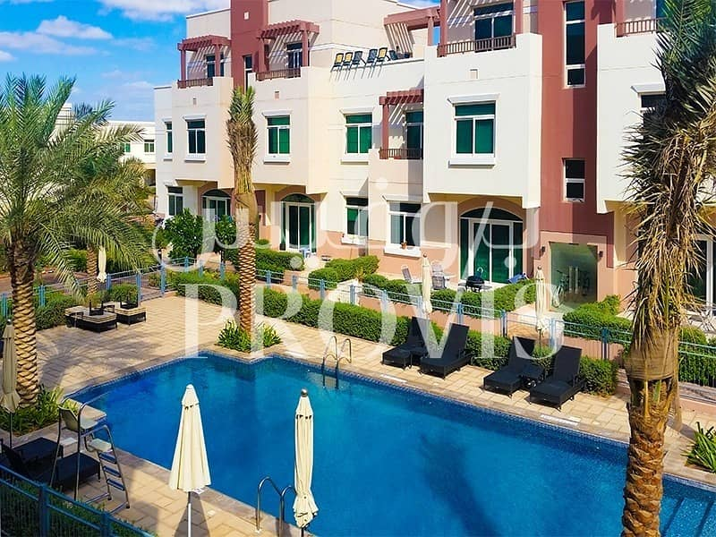 10 Terrace Studio Apartment in Al Khaleej Village!
