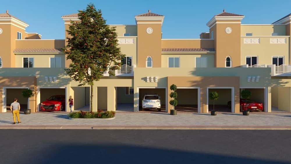 فیلا في فيكتوري هايتس مدينة دبي الرياضية 4 غرف 2249999 درهم - 4011843
