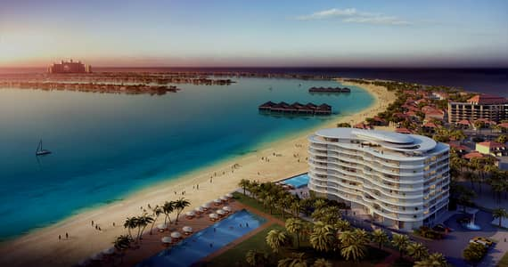 فلیٹ 1 غرفة نوم للبيع في نخلة جميرا، دبي - LIVING ON THE EIGHTH WONDER OF THE 1BR