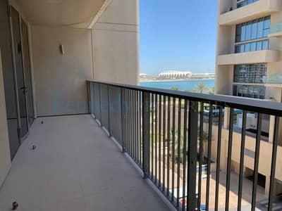 فلیٹ 1 غرفة نوم للايجار في شاطئ الراحة، أبوظبي - Partial Sea view 1 plus study Al Zeina