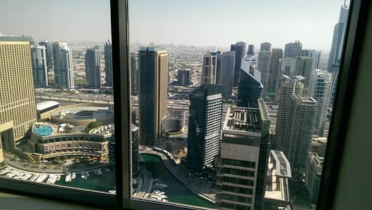 4 Bedroom Apartment for Rent in Jumeirah Beach Residence (JBR), Dubai - Luxuries, LOFT - Vacant 4 Bedroom  Maid - IN 4 Cheqs 155K