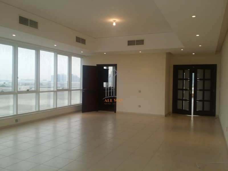 HOT DEAL | Stunning 3 Bhk Apartment with Spacious Living Room @ Mina Road, Abu Dhabi.