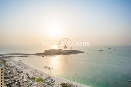 4 Bedroom Penthouse for Sale in Jumeirah Beach Residence (JBR), Dubai - Breathtaking View | Private Swimming Pool
