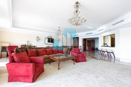 3 Bedroom Flat for Sale in Palm Jumeirah, Dubai - Top Floor Apartment with Sea & Marina View