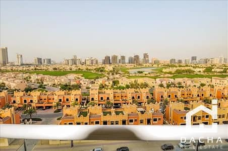 2 Bedroom Flat for Sale in Dubai Sports City, Dubai - Rented / Full Golf Course View / Golf View Residence
