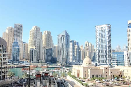 3 Bedroom Apartment for Rent in Dubai Marina, Dubai - Massive layout - 3 bed + Maid - Multiple Cheques
