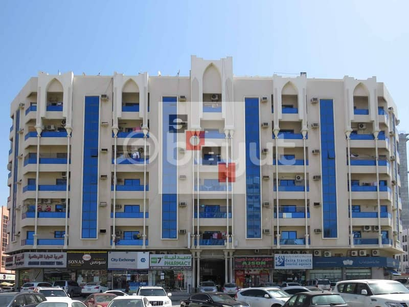 Spacious 1 Bedroom apartment available for  rent in SOBH Ajman Bldg. 2
