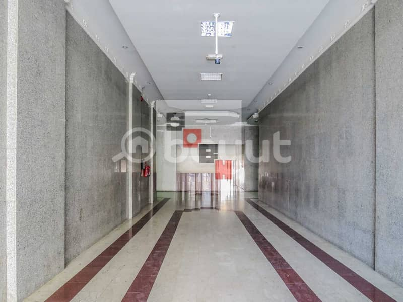 2 Spacious 1 Bedroom apartment available for  rent in SOBH Ajman Bldg. 2