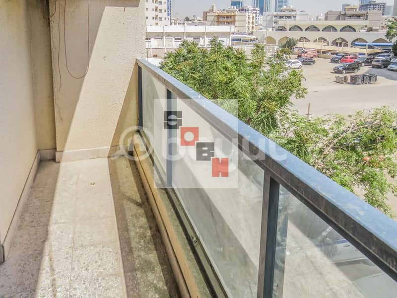 10 Spacious 1 Bedroom apartment available for  rent in SOBH Ajman Bldg. 2