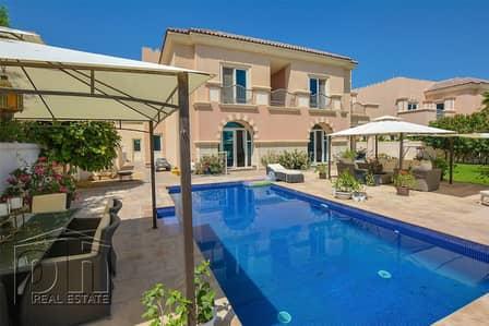 5 Bedroom Villa for Rent in Dubai Sports City, Dubai - Amazing B1 - Golf Course Views - Swimming Pool