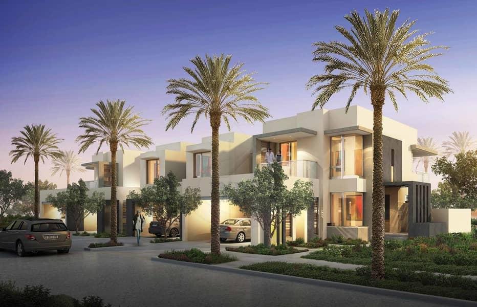 Villa in Dubai Hills Maple TH   3 Yr PHPP   0% DLD