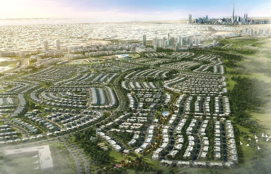10 Villa in Dubai Hills Maple TH | 3 Yr PHPP | 0% DLD