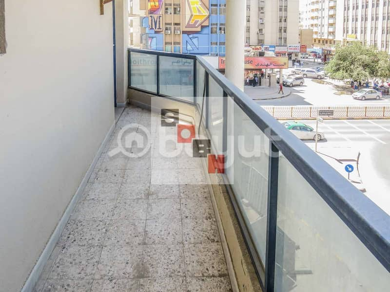 10 Spacious  2 Bedroom apartment available for  rent in SOBH Ajman Bldg. 2