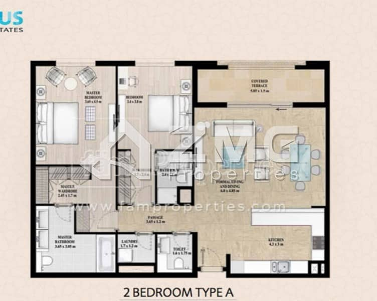 11 Amazing Brand New 2 BR with 2 Huge Balcony|Vacant