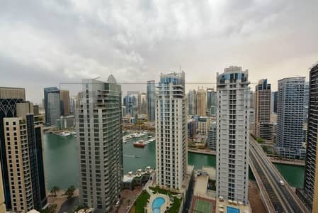 2 Bedroom Apartment for Sale in Jumeirah Beach Residence (JBR), Dubai - 2BR | Full Marina View | Bright & Spacious