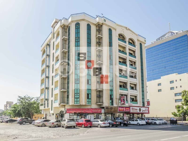 Spacious  2 Bedroom apartment available for  rent in SOBH Ajman Bldg. 3