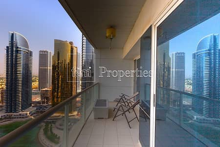 1 Bedroom Apartment for Rent in Jumeirah Lake Towers (JLT), Dubai - Next to metro|Immaculate| Full Lake View