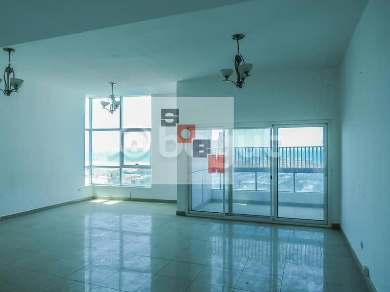 2 Spacious  3 Bedroom apartment available for  rent in SOBH Ajman Bldg. 4