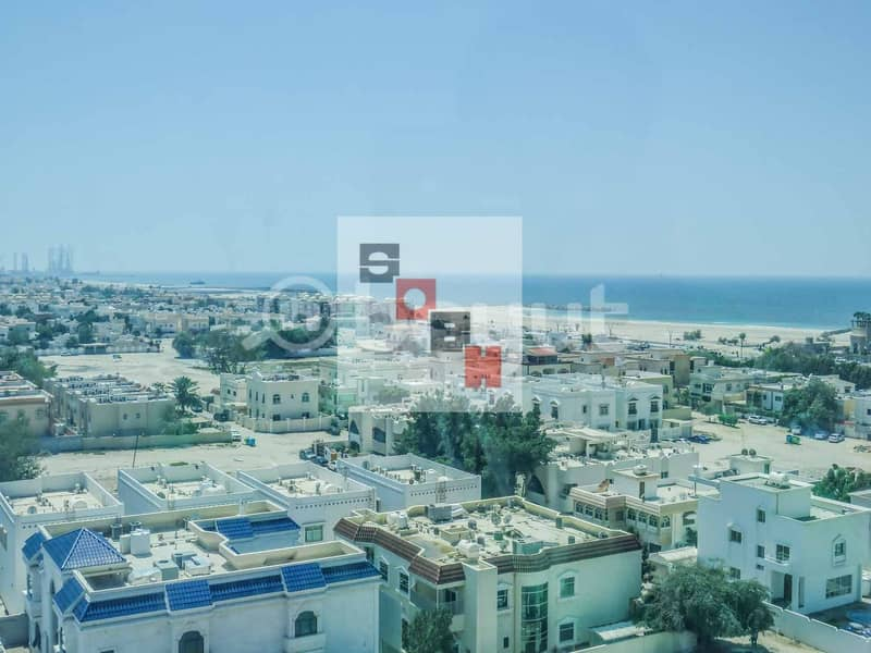 10 Spacious  3 Bedroom apartment available for  rent in SOBH Ajman Bldg. 4