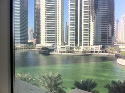 1 Bedroom Flat for Rent in Jumeirah Lake Towers (JLT), Dubai - 1 Bedroom w/ Lake View  Lakeshore Tower   JLT   For Rent