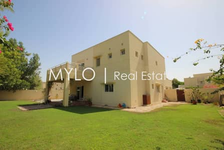 4 Bedroom Villa for Rent in The Meadows, Dubai - 4 bed Type 14 | Large corner plot | great condition