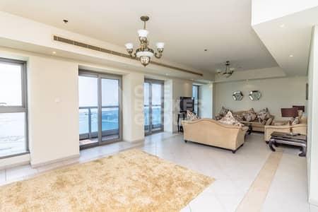 شقة 4 غرفة نوم للبيع في دبي مارينا، دبي - Lowest Price|Breathtaking Sea View|4 Bed