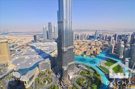 بنتهاوس 4 غرفة نوم للايجار في وسط مدينة دبي، دبي - SPECTACULAR 4BR PENTHOUSE FULL BURJ VIEW