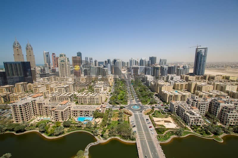 Vacant 1 BR in Golf Towers | Full Canal View