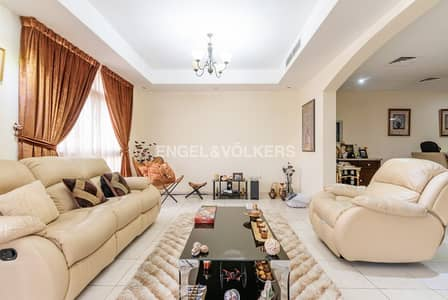 5 Bedroom Townhouse for Sale in Jumeirah Village Circle (JVC), Dubai - Rented | Corner Unit with a Maid's Room