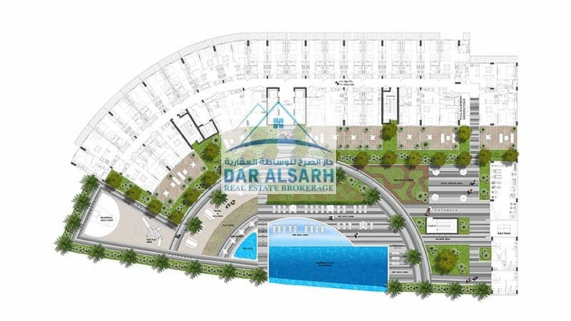 10 Own your apartment in Al Barsha with a payment plan of 1% monthly for 6 years